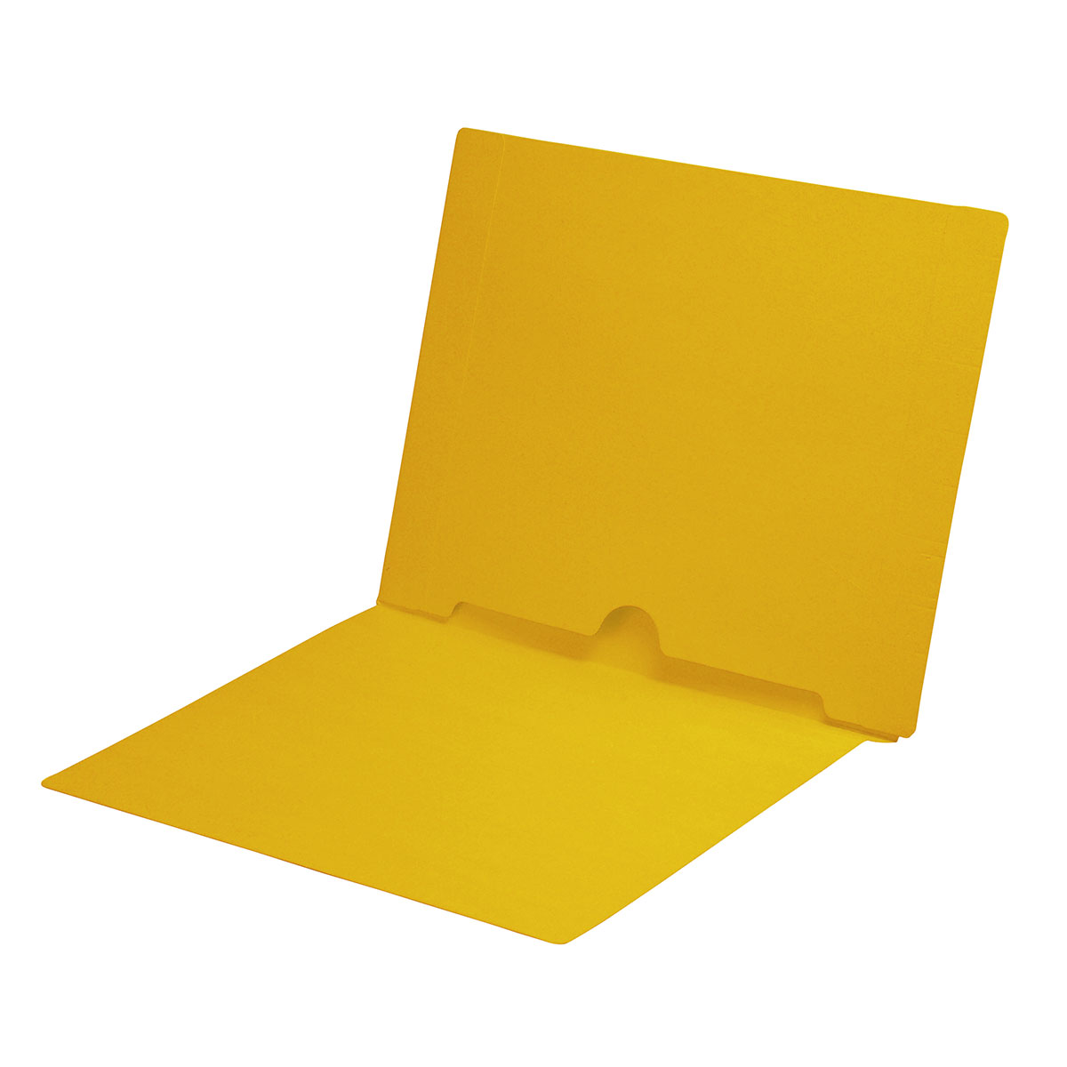 Yellow pocket folder