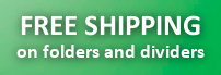 Free Shipping on Folders and Labels