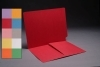 11 pt Color Folders, Full Cut End Tab, Letter Size, 1/2 Pocket Inside Front (Box of 50)
