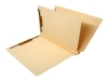 14 Pt. Manila Classification Folders, Full Cut End Tab, Letter Size, 1 Divider (Box of 25)