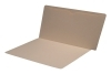 11 pt Manila Folders, Full Cut End Tab, Letter Size, Full Open Top Back Pocket (Box of 50)