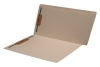 11 pt Manila Folders, Full Cut End Tab, Letter Size, Full Open Top Back Pocket, Fasteners Pos #1 & #3 (Box of 50)