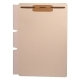 Self Adhesive Divider, Standard Side Flap, 2&#34 Fasteners on Top of Both Sides (Box of 100)