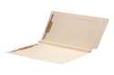 14 pt Manila Folders, Full Cut 2-Ply End/Top Interlock Tab, Letter Size, Fastener Pos #1 & #3, 1-1/2&#34 Expansion (Box of 50)