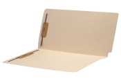11 pt Manila End Tab Folders with 2-Ply Tab