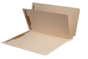 Mylar Reinforced Manila Folders with Self Stick Dividers