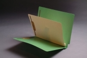 Color Folders with Self Stick Dividers