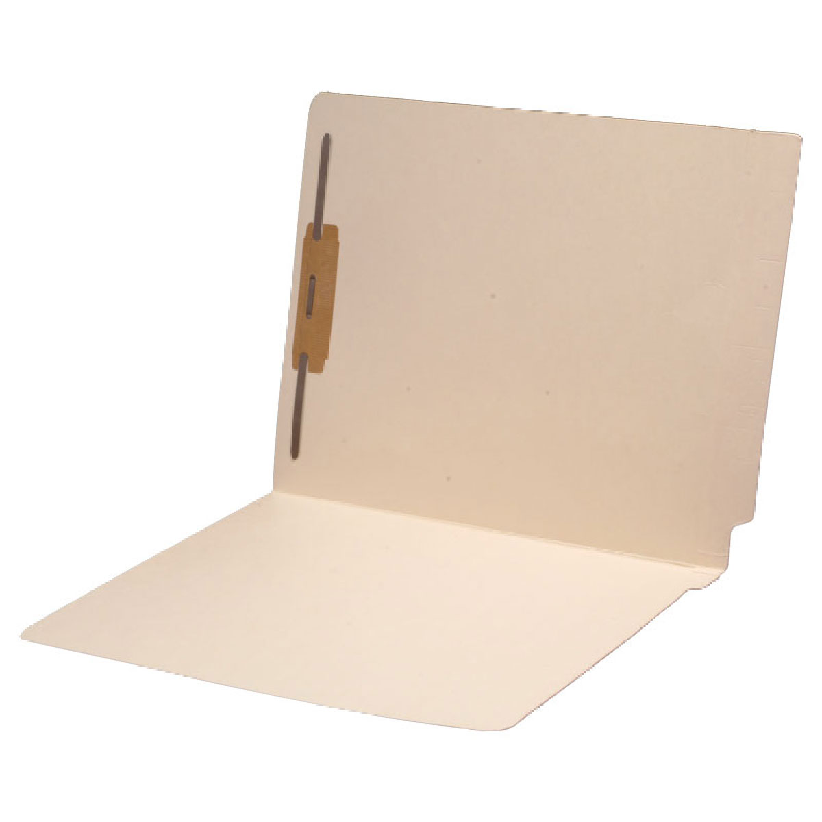 S-1323 - 14 pt Manila Folders, Full Cut 2-Ply End Tab, Letter Size, Fastener Pos #1 (Box of 50)