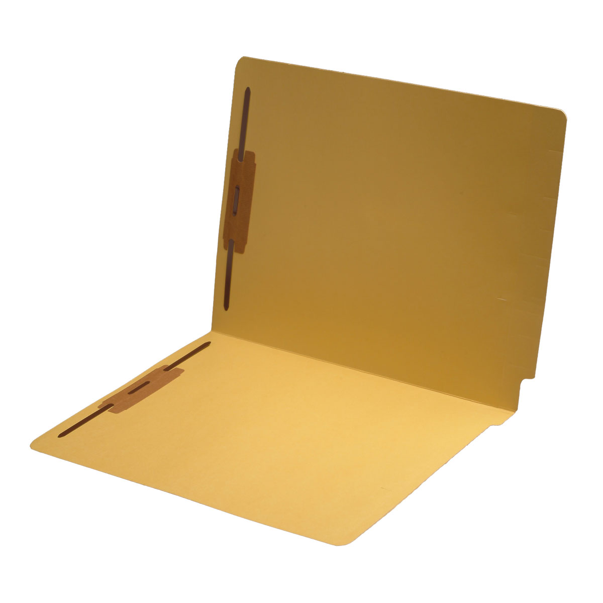 S-1502 - 11 pt Color Folders, Full Cut 2-Ply End Tab, Letter Size, Fastener Pos #1 & #3 (Box of 50)