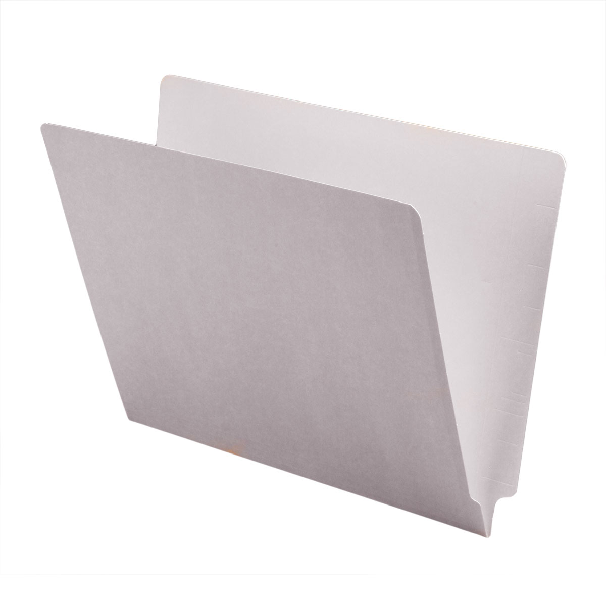 14pt Red Folders Box of 50 Letter Size Full Cut 2-Ply END TAB
