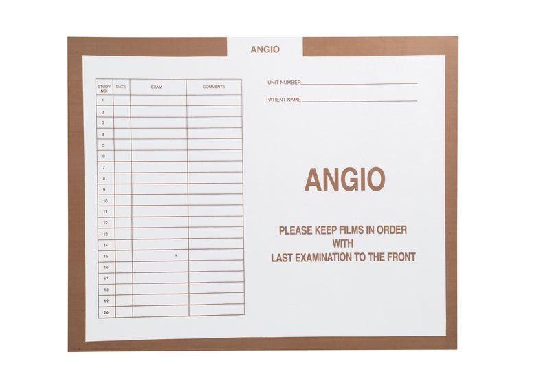 "S-23611 - Angio, Stone #466 - Category Insert Jackets, System II, Open Top - 14-1/4"" x 17-1/2"" (Carton of 250)"