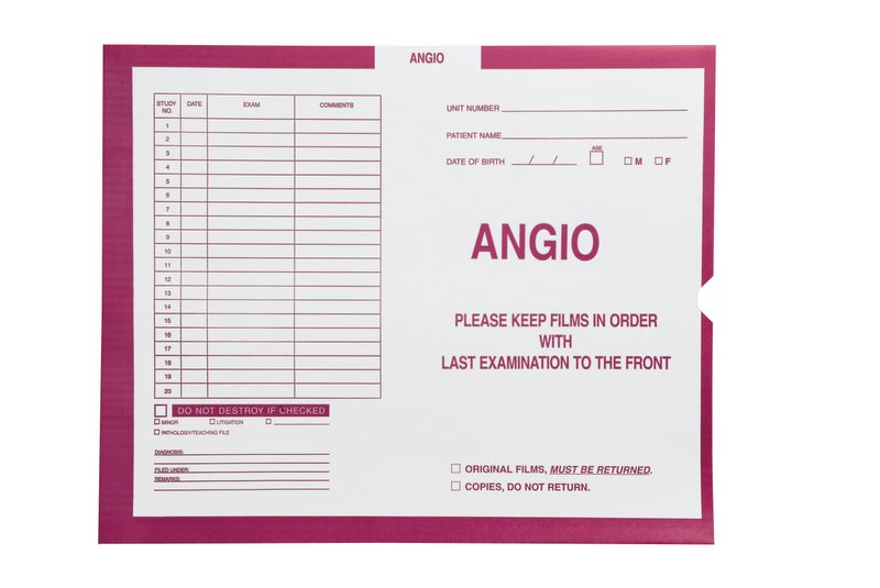 S-54930 - Angio, Magenta #233 - Category Insert Jackets, System I, Open End - 14-1/4