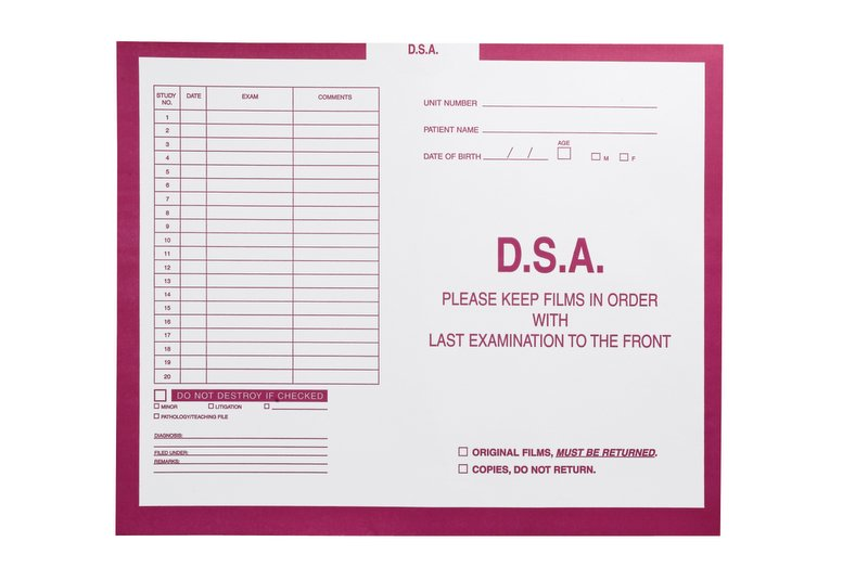 "S-54955 - D.S.A., Magenta #233 - Category Insert Jackets, System I, Open Top - 14-1/4"" x 17-1/2"" (Carton of 250)"