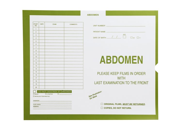S-58994 - Abdomen, Yellow/Green #381 - Category Insert Jackets, System I, Open End - 14-1/4