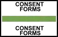 S-8083 - Stick On Index Tabs, CONSENT FORMS (Lt Green) 1-1/2