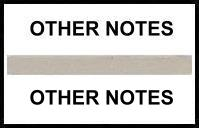 S-8087 - Stick On Index Tabs, OTHER NOTES (Gray) 1-1/2