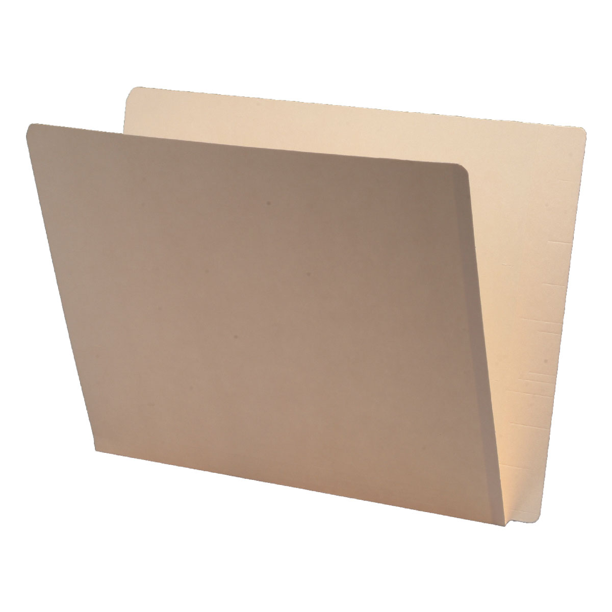 S-9026 - 11 pt Manila Folders, Full Cut 2-Ply Super End Tab, Letter Size (Box of 100)