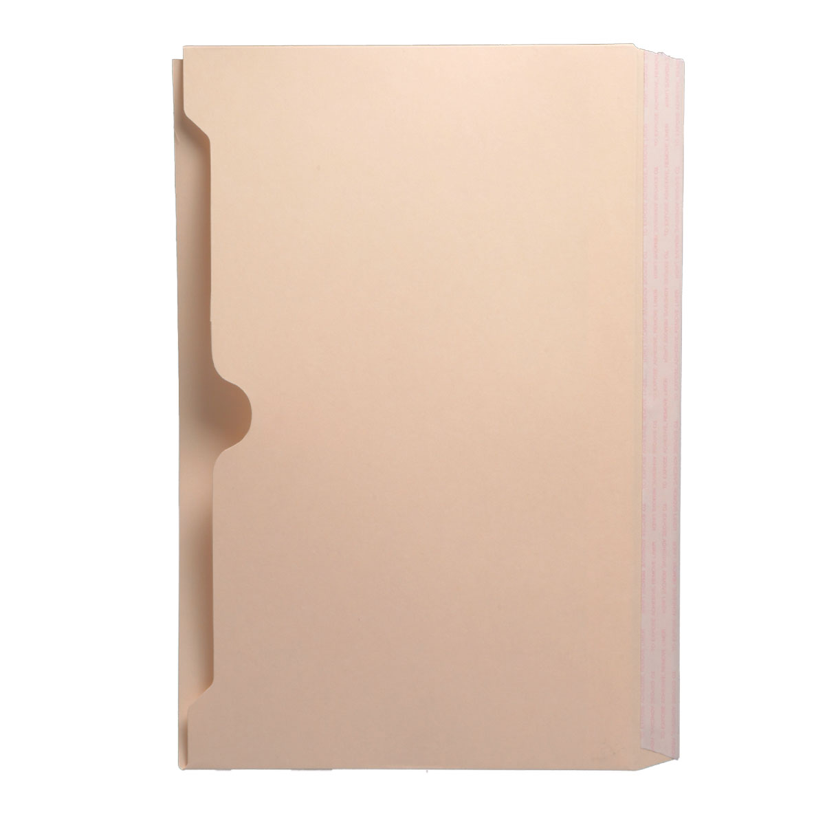 S-9048 - Self Adhesive Divider, Standard Side Flap, Full Pocket (Box of 50)