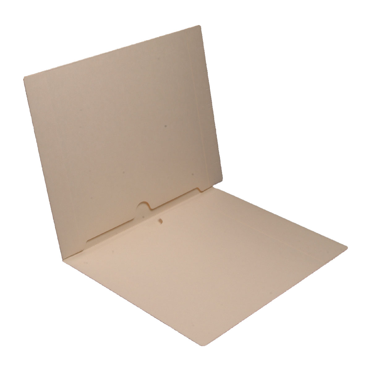 S-9067 - 11 pt Manila Folders, Full Cut End Tab, Letter Size, Full Pocket Front and Back (Box of 50)