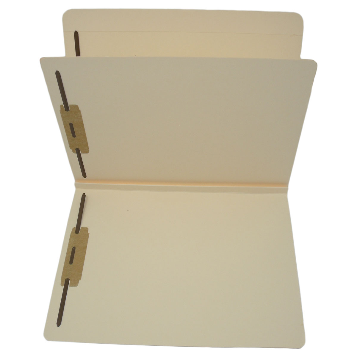S-9089 - 14 Pt. Manila Classification Folders, Full Cut Top Tab, Letter Size, 1 Divider (Box of 25)