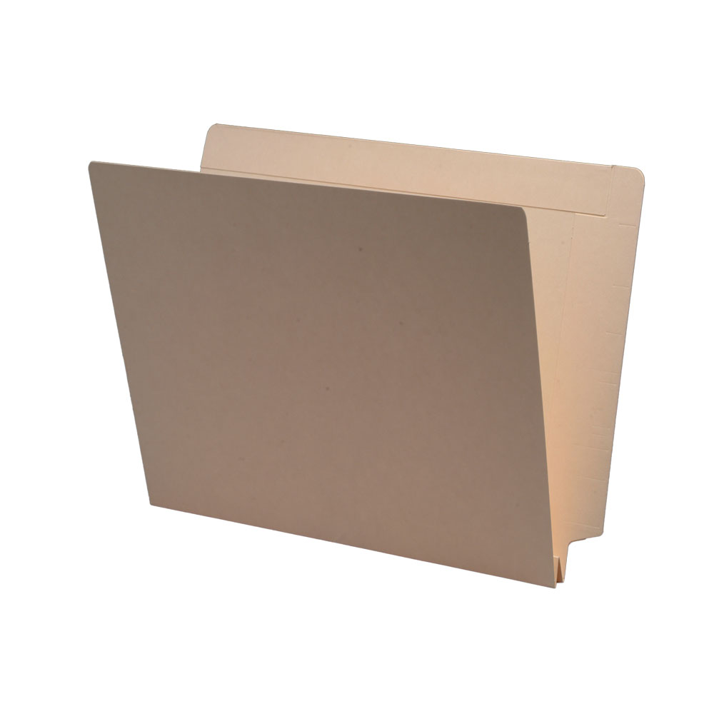 S-9095 - 14 pt Manila Folders, Full Cut 2-Ply End/Top Interlock Tab, Letter Size, 1-1/2