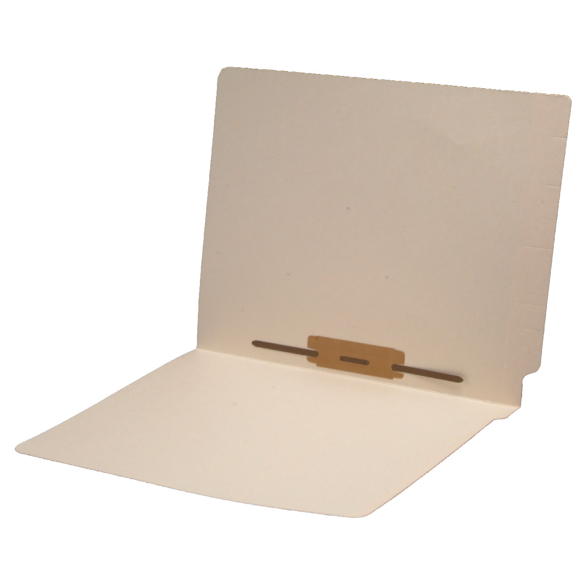 S-9120 - 14 pt Manila Folders, Full Cut 2-Ply End Tab, Letter Size, Fastener Pos #5 (Box of 50)