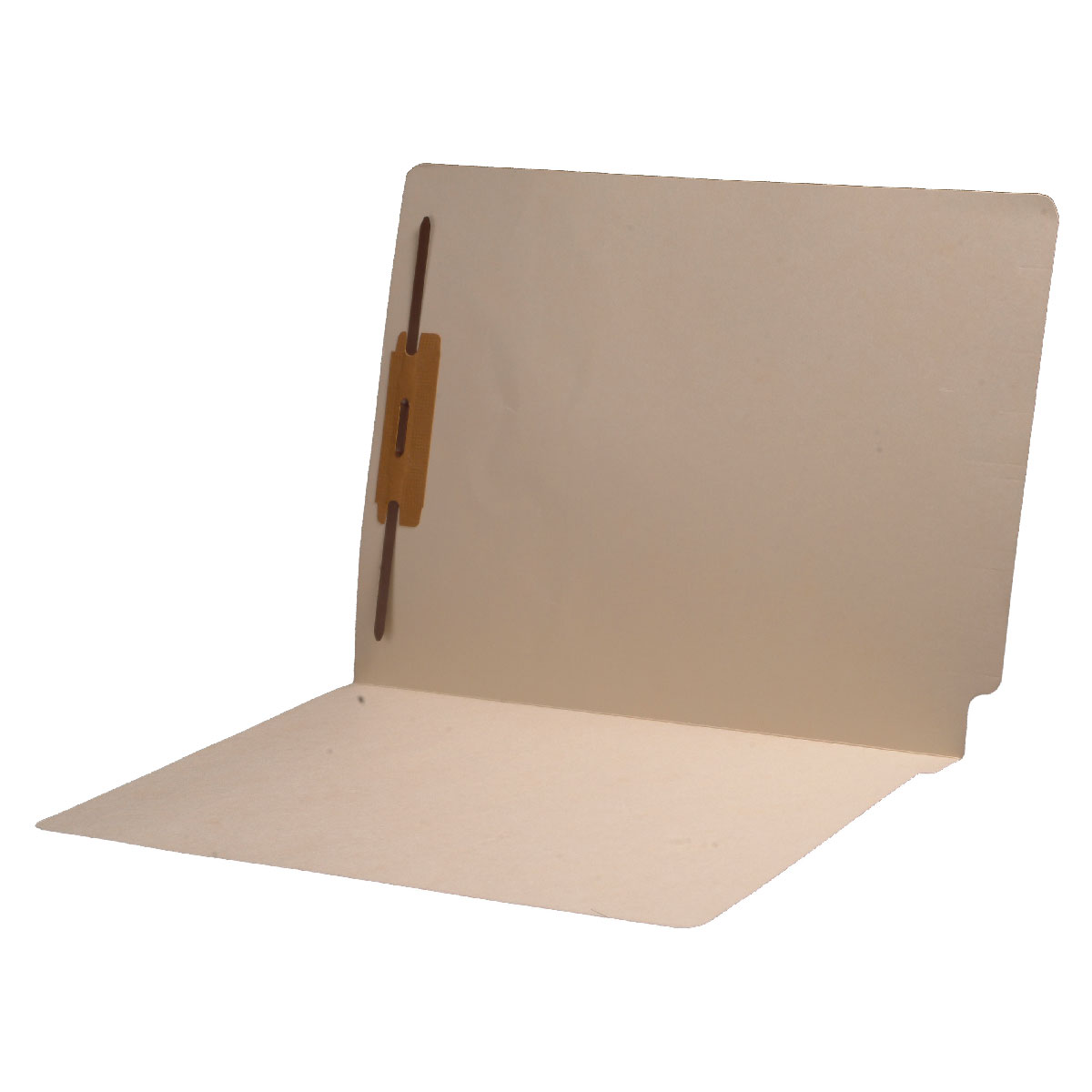 S-9135 - 11 pt Manila Folders, Full Cut End Tab, Letter Size, Fastener Pos #1 (Box of 50)