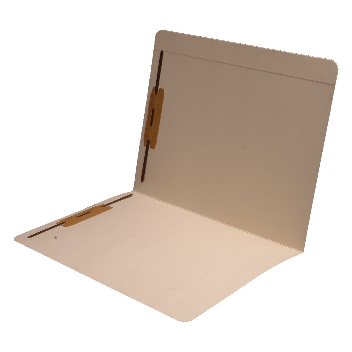 S-9173 - 14 pt Manila Folders, Full Cut Reinforced Top Tab, Letter Size, Fastener Pos #1 and #3 (Box of 50)