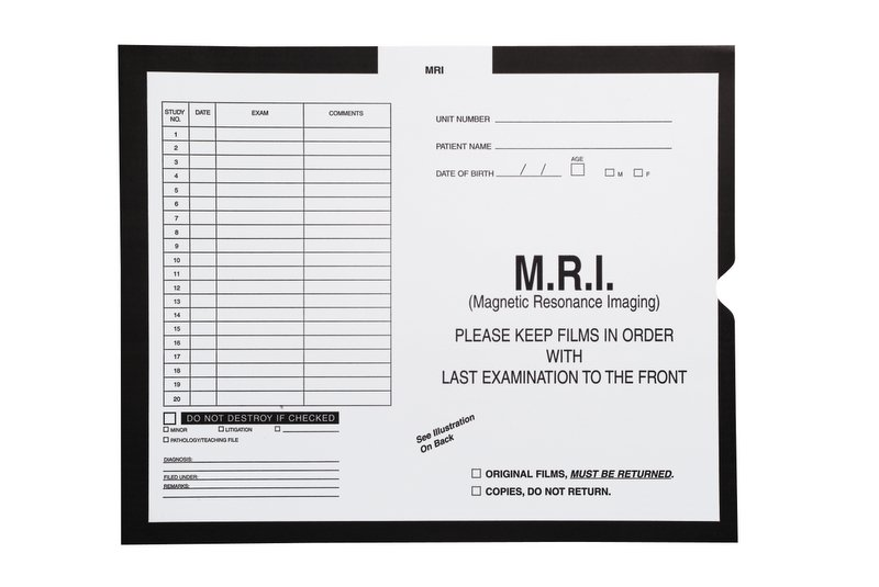 "S-92063 - M.R.I., Black - Category Insert Jackets, System II, Open End - 14-1/4"" x 17-1/2"" (Carton of 250)"