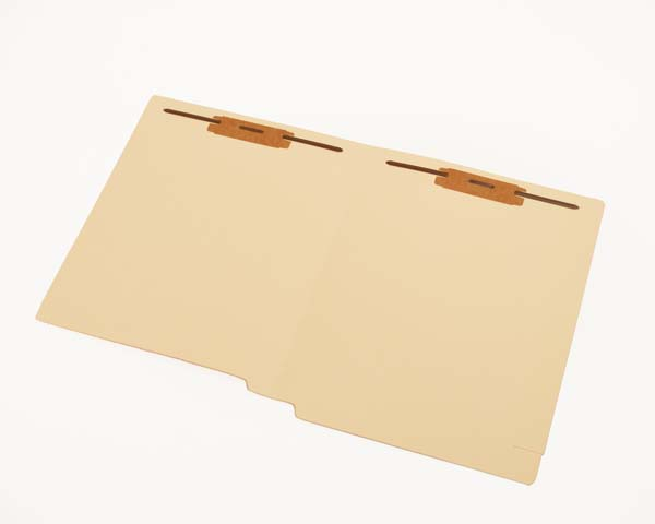 S-9362 - 15 pt Manila Folders, Full Cut End Tab, Reinforced End/Top, Letter Size, Fastener Pos #1 & #3 (Box of 50)