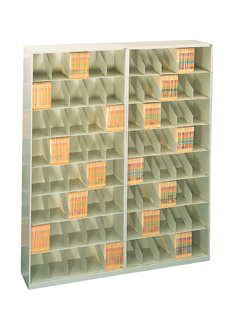DS-SO42LT7A - Fully Assembled Stackable Shelving, 42