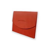 Tuck-N-Lock Carry All Wallets, Brick Red