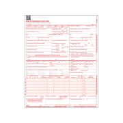 S-9352-PK-14 - CMS 1500 Claim Forms, HCFA (Version 02/12), 1 Part, Laser (Pkg of 500)