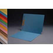 S-1501 - 11 pt Color Folders, Full Cut 2-Ply End Tab, Letter Size, Fastener Pos #1 (Box of 50)