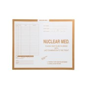 "S-28813 - Nuclear Medicine, Manila #134 - Category Insert Jackets, System II, Open Top - 14-1/4"" x 17-1/2"" (Carton of 250)"