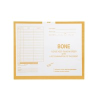 "Bone, Yellow #109 - Category Insert Jackets, System I, Open Top - 14-1/4"" x 17-1/2"" (C..."