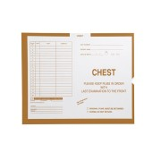 "S-75388 - Chest, Briar #131 - Category Insert Jackets, System II, Open End - 14-1/4"" x 17-1/2"" (Carton of 250)"