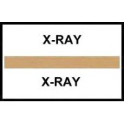 S-8056 - Stick On Index Tabs, X-RAY (Brown) 1-1/2