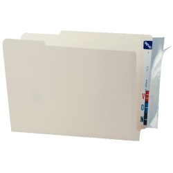 "Full Tab Label Protectors, 8"" x 2"" (Box of 100)"
