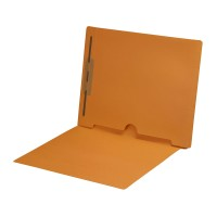 Goldenrod Fastener Folder with Full Back Pocket