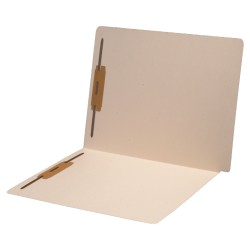 14 pt Manila Folders, Full Cut Super End Tab, Letter Size, Fastener Pos #1 & #3 (Box of 50)