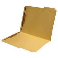 11 pt Color Folders, 1/3 Cut Top Tab - Assorted, Letter Size, Fastener Pos #1 and #3 (Box of...