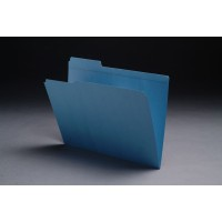 11 pt Color Folders, 1/3 Cut Reinforced Top Tab - Assorted, Letter Size (Box of 100)