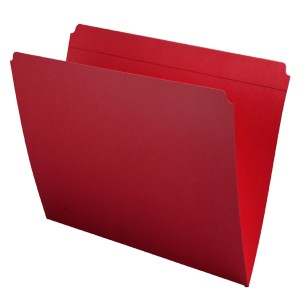 Color Top Tab Folders