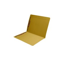 Yellow Top Tab Fastener Folder
