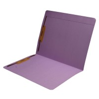 11 pt Color Folders, Full Cut Reinforced Top Tab, Letter Size, Fastener Pos #1 and #3 (Box o...