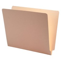 Manila End Tab Folder, Letter Size, No Fasteners