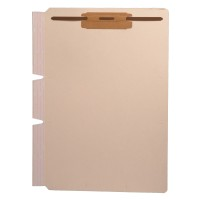 "Self Adhesive Divider, Standard Side Flap, 2"" Fastener on Top (Box of 100)"