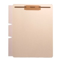 "Self Adhesive Divider, Standard Side Flap, 2"" Fasteners on Top of Both Sides (Box of 100)"