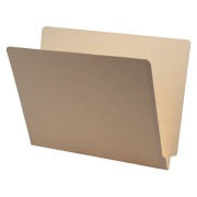 S-9145 - 11 pt Manila Folders, Full Cut 2-Ply End Tab, Letter Size, Drop Front (Box of 100)